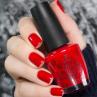infinite shine big apple red фото на ногтях