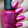 opi flashbulb fuchsia фото на ногтях