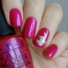 opi pompeii purple фото на ногтях