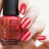 opi go with the lava flow фото на ногтях