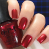 gelcolor an affair in red square фото на ногтях