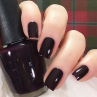 opi good girls gone plaid фото на ногтях