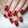 vinylux 139 red baroness фото на ногтях