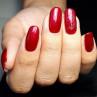 vinylux 139 red baroness на ногтях
