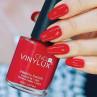 vinylux 143 rouge red фото на ногтях