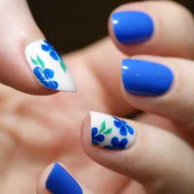 яркий летний дизайн ногтей фото