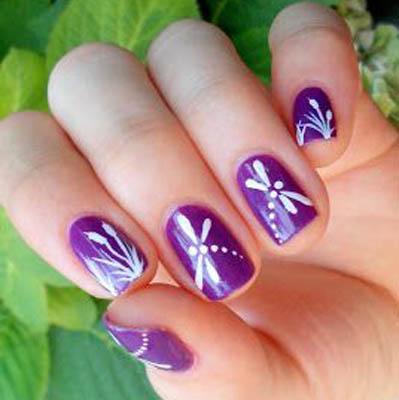 красивый летний дизайн ногтей фото